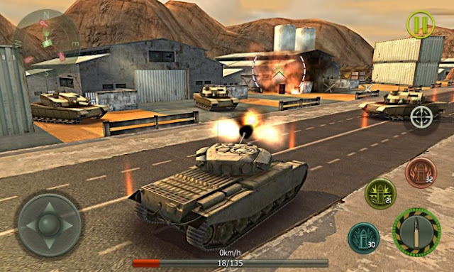 Download Tank Strike 3D Apk Mod v.1.4 Unlimited Money