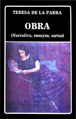 Carátula de Teresa de la Parra - Obras