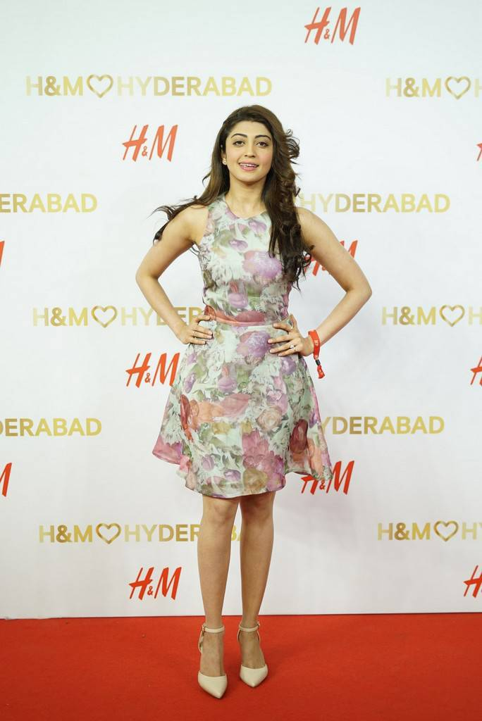 Pranitha At H And M Store Launch Event Stills