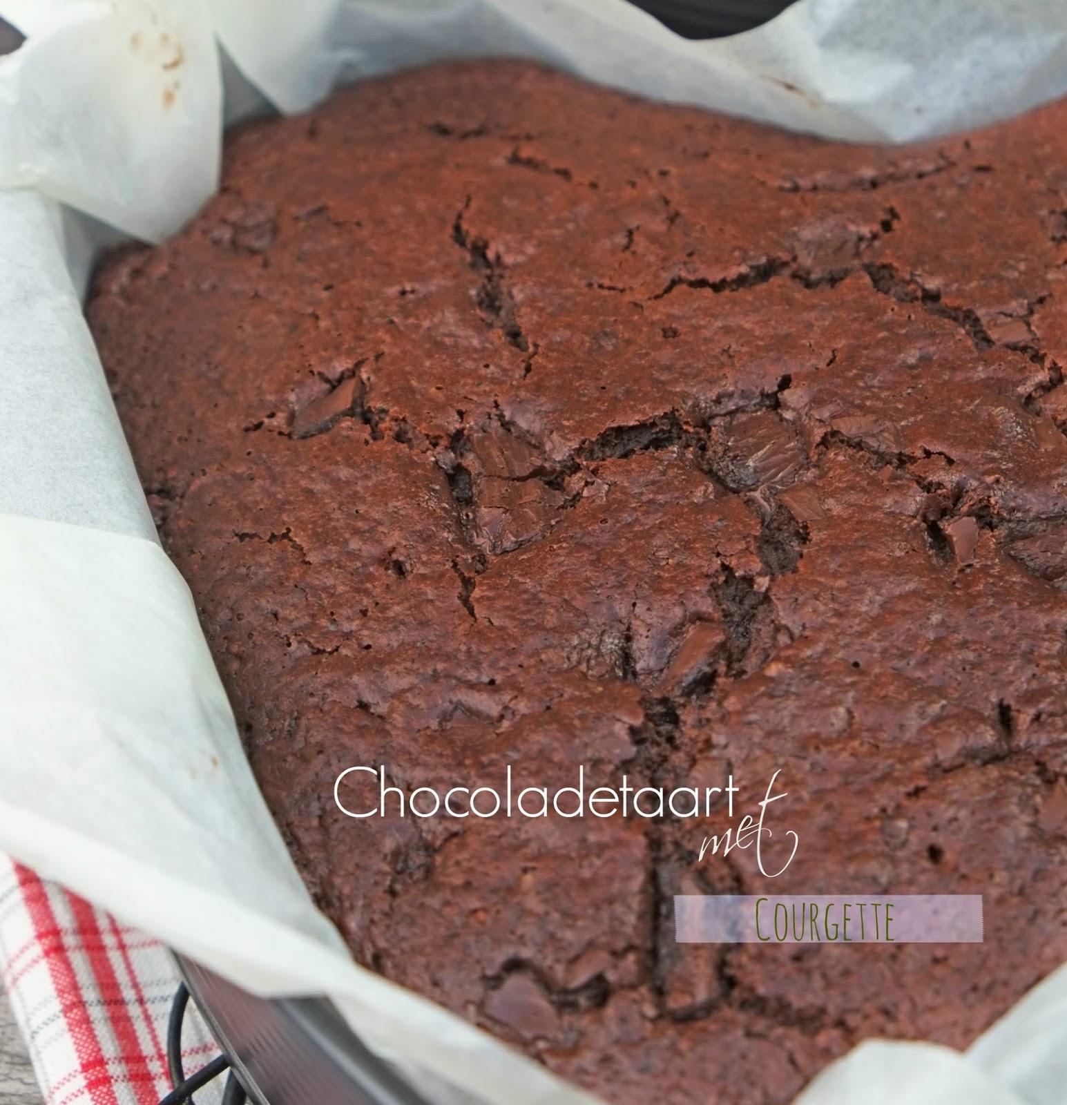 Chocoladetaart met Courgette