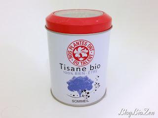 Tisane bio 100% bien-être Sommeil - Nos plantes ont du talent