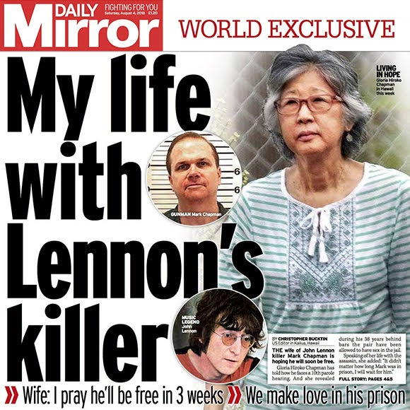 Gloria Hiroko Chapman : l'épouse de l'assassin de John Lennon se confie
