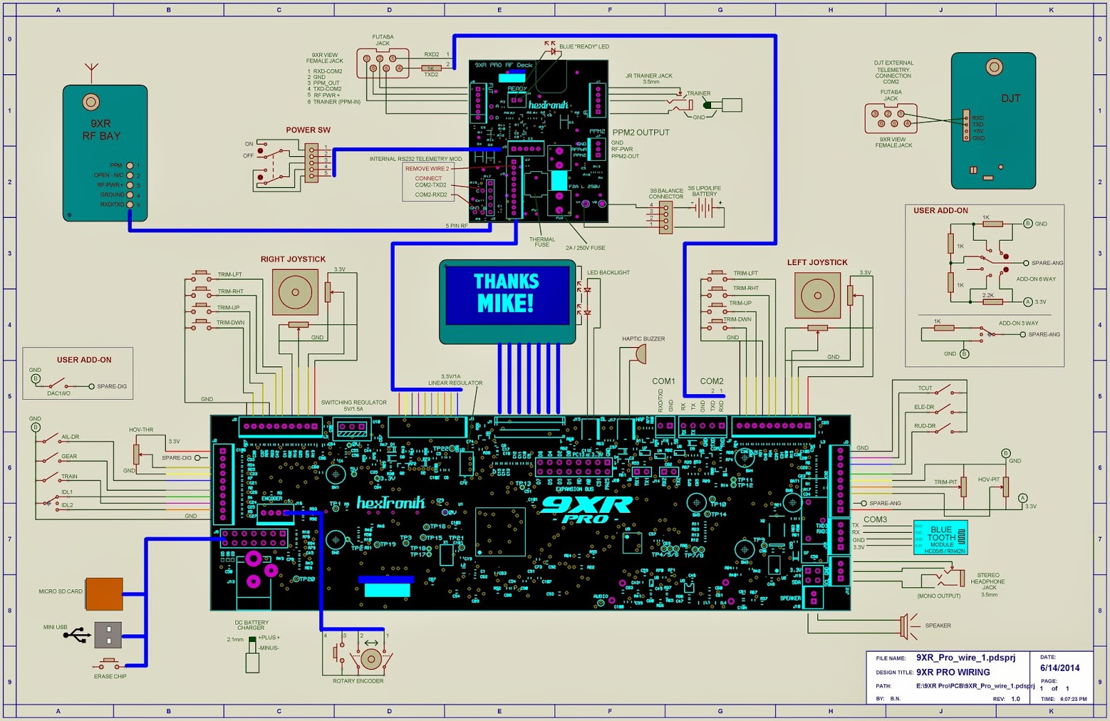 hight resolution of 9xr pro wiring diagram