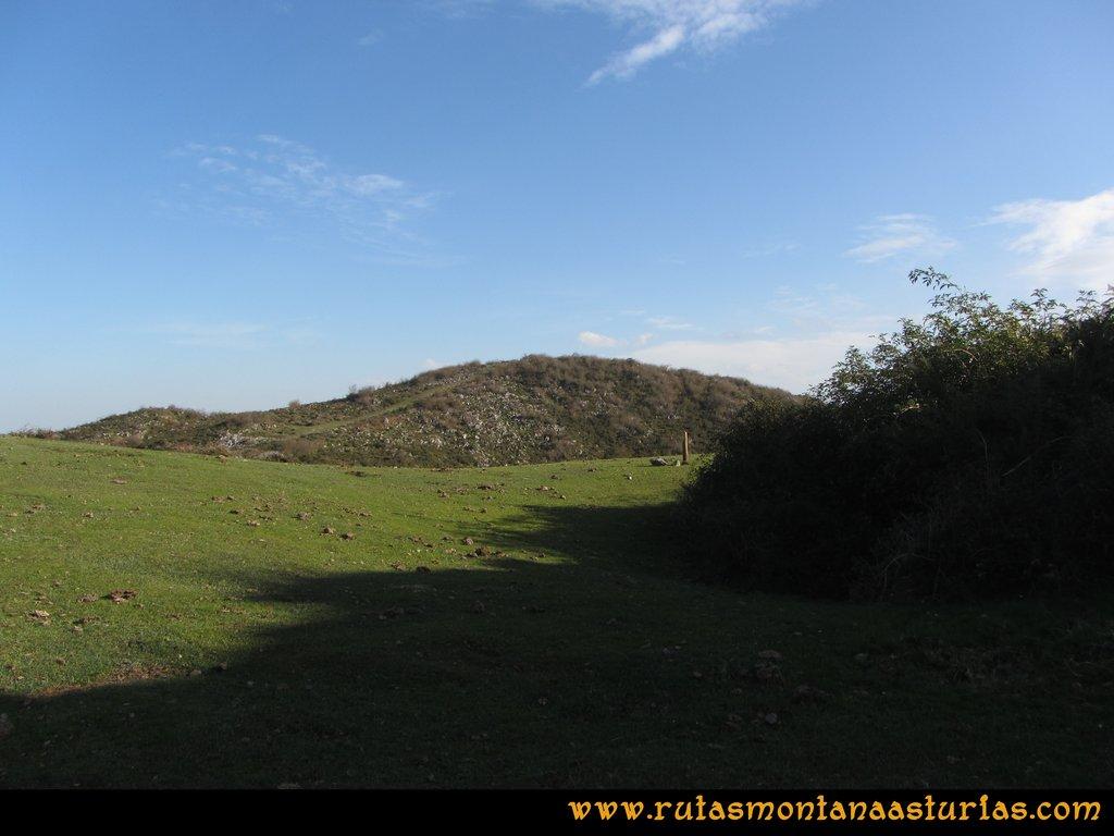 Ruta Baiña, Magarrón, Bustiello, Castiello. Campera