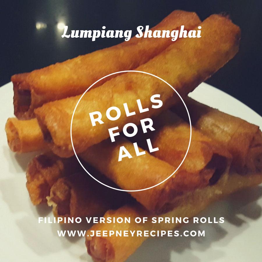lumpiang shanghai recipe by www.jeepneyrecipes.com