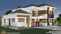 Elegant South Indian Villa - Kerala Home Design And Floor