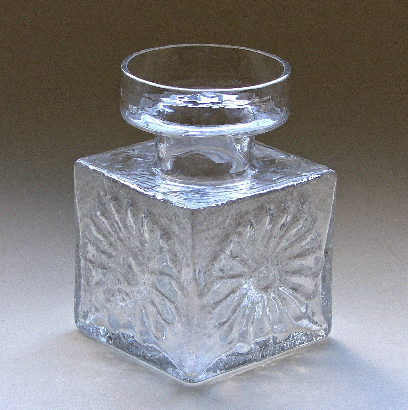 Frank Thrower Glass Designs 1960s Dartington Glass