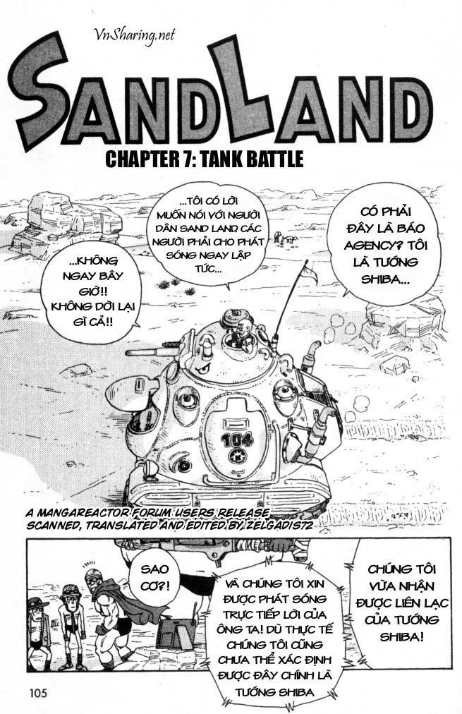 SandLand chap 7 trang 1