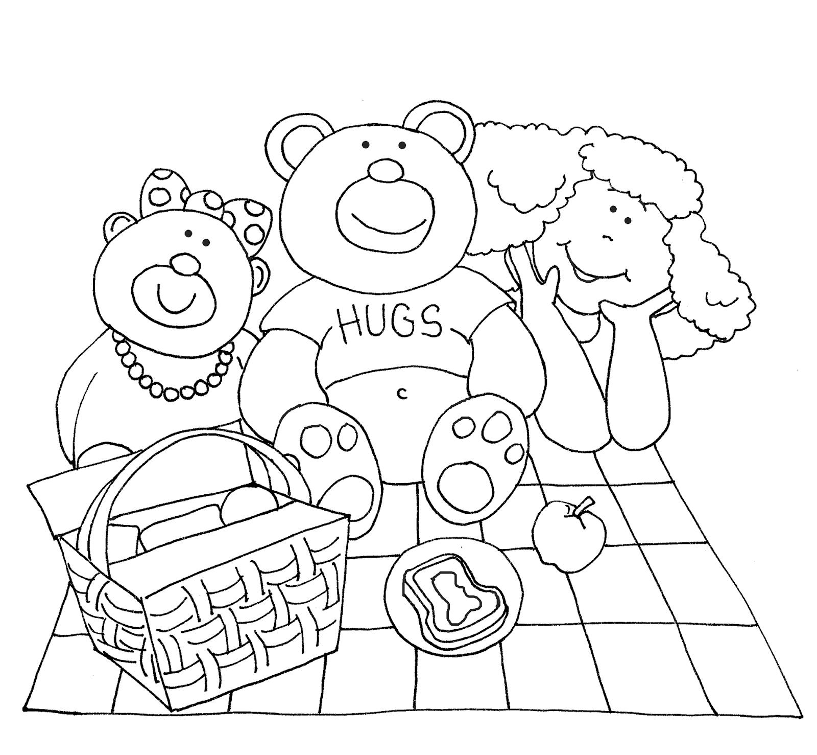 Free Dearie Dolls Digi Stamps: Teddy Bear Picnic