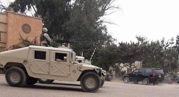 +صور:مدرعات حربية وجنود أميركيون يظهرون بأكادير