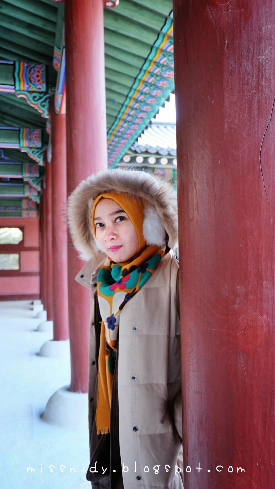 pengalaman ke gyeongbokgung seoul