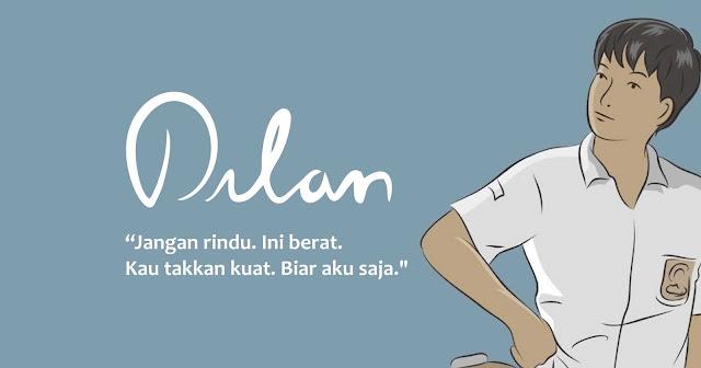 30 Kata Kata Romantis Dalam Novel Dilan Karya Pidi Baiq