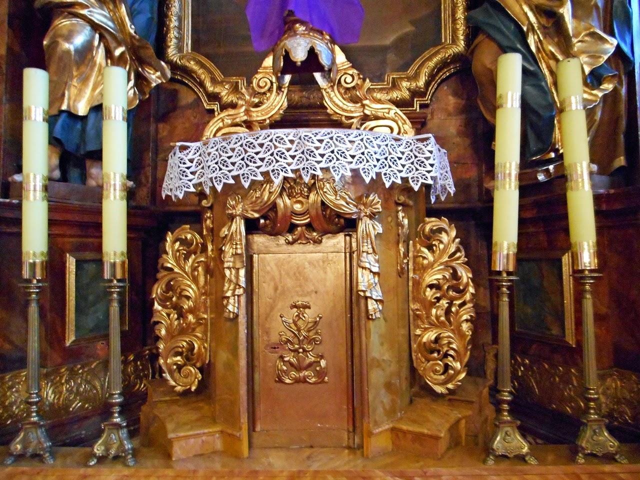 ołtarz, kościół, Solniki, zabytek