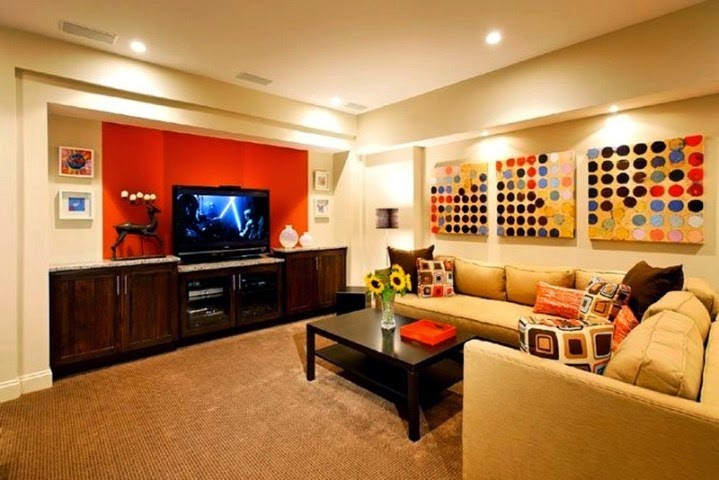 amazing wall paint ideas for basement