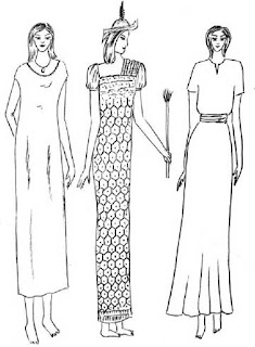 Kalasiris yaitu busana wanita Mesir zaman prasejarah. Kalasiris berbentuk dasar kutang, panjangnya sampai mata kaki, longgar dan lurus, adakalanya memakai ikat pinggang dan lengan setali