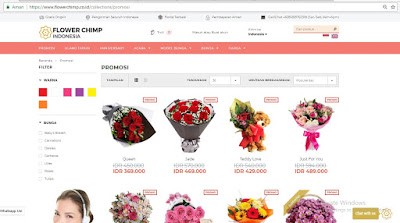 website flower chimp