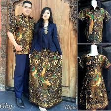 Baju Batik Seragam Keluarga Pernikahan Modern