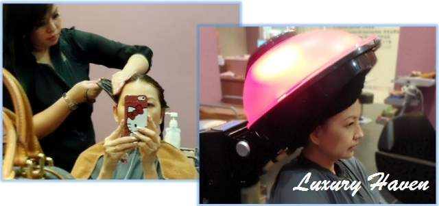 jass hair design shiseido f-program detox blood circulation