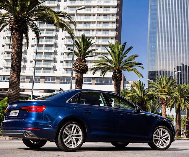 novo Audi A4 2017 Lauch Edition
