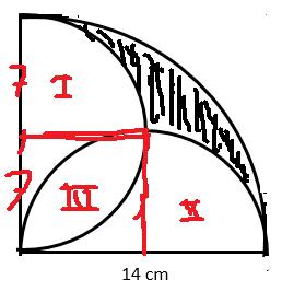 Menghitung Luas Yang Diarsir Lingkaran Matematika