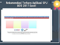 Rekomendasi Terbaru Aplikasi SPJ BOS 2017 Excel