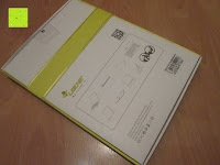Verpackung Rückseite: Sharon Galaxy NotePRO 12.2 Hülle mit magnetisch befestigter Bluetooth Tastatur und integriertem Touchpad | Ultraslim Schutzhülle | deutsches Layout | Tastatur herausnehmbar