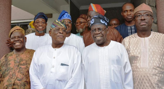 Tinubu, Osoba: Amosun accuses them of complicity in the emergence of Dapo Abiodun as APC governorship candidate