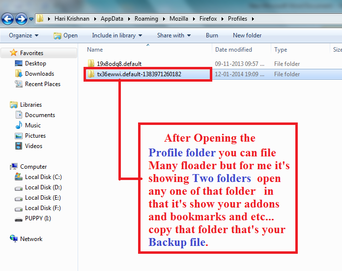 how to clean up appdata roaming folder