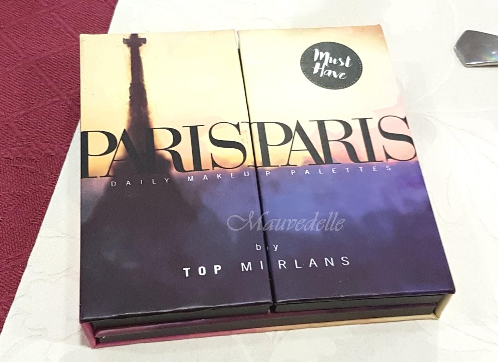 60fb5e461 Dancing Paris, paleta con 24 sombras de ojos, coloretes, bronzer e  iluminador también: