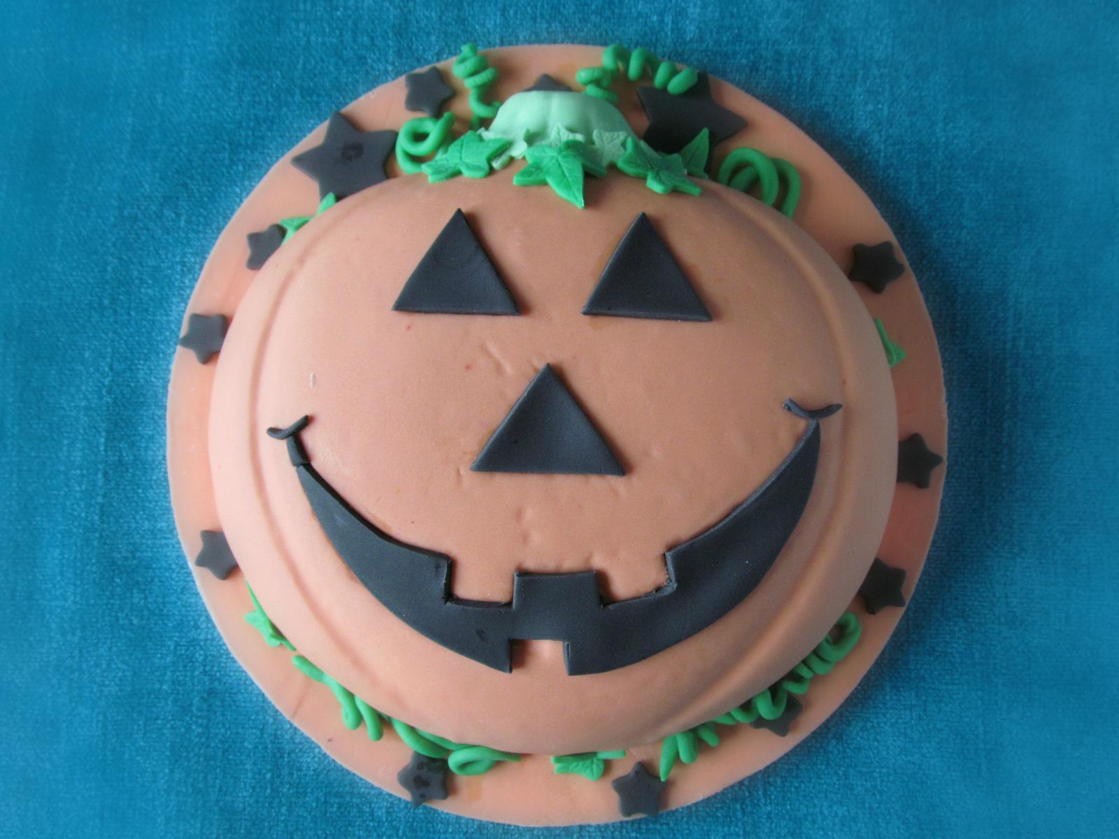Good Food Shared Hallowe En Pumpkin Cake