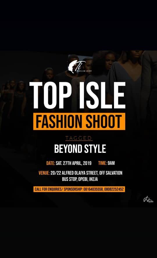 [GISTS] Top Isle Fashion Shoot (Beyond Style) | Participate | Read More