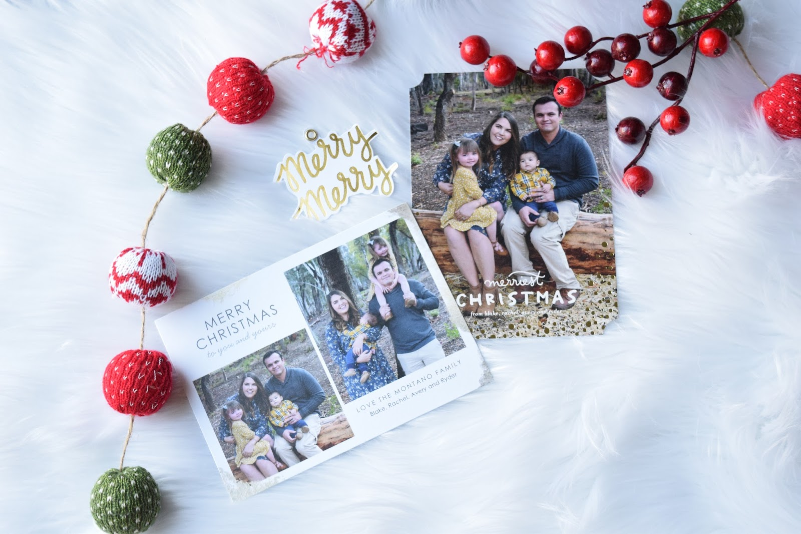 Choosing Christmas Cards with Tiny Prints - Mama Loves Little