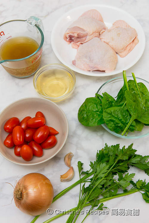 Creamy Garlic Chicken Thigh Ingredients