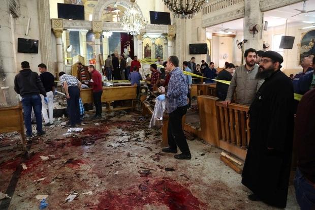 """7th Rangers: Egypt: Muslims screaming """"Allahu akbar"""" throw"""