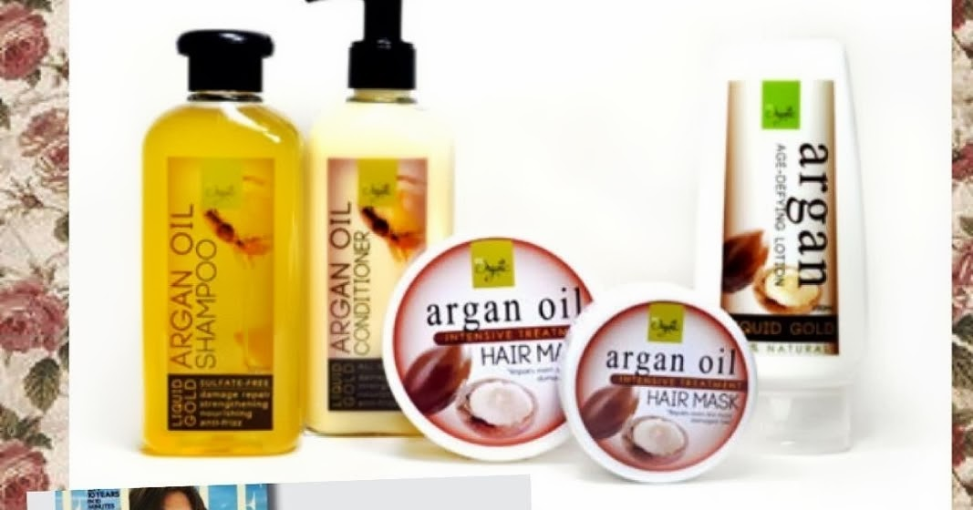 Green and Well: Be Organic's Argan Oil Hair Products