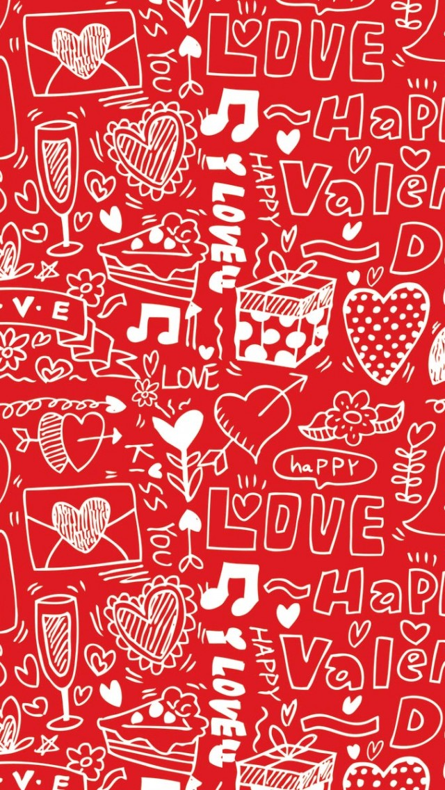 Download Valentine Day iPhone Backgrounds
