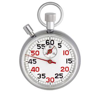 Un chronomètre.