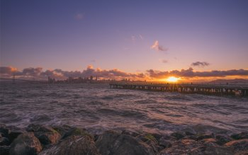 Wallpaper: Sunset from San Francisco