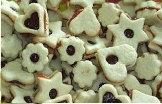 Vanilice - Linzer Cookies