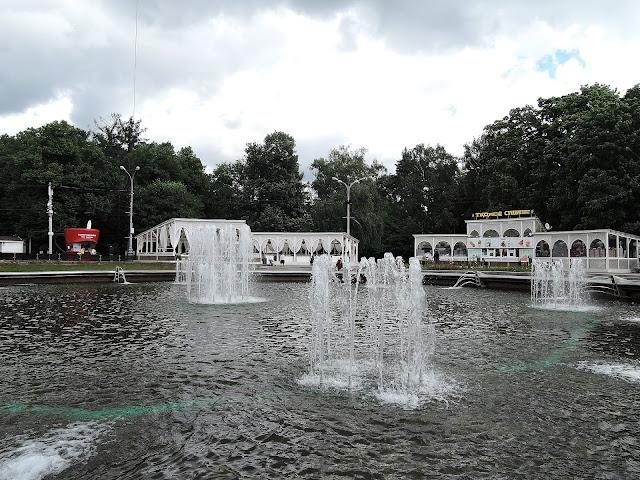 сокольники фонтан