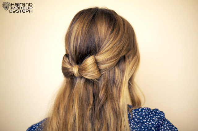 Marvelous Hair And Make Up By Steph How To Hair Bow Short Hairstyles Gunalazisus