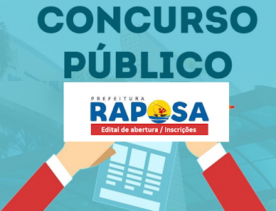 Concurso Prefeitura de Raposa Edital (APOSTILAS)