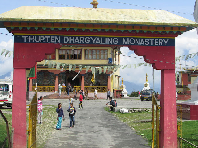 The gate to the Monastery at Ravangla Sikkim