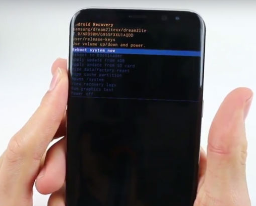 Android TRWP Stuck In Bootloop For Samsung Galaxy S8
