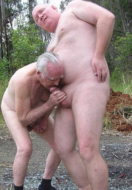 Fat old man gay sex