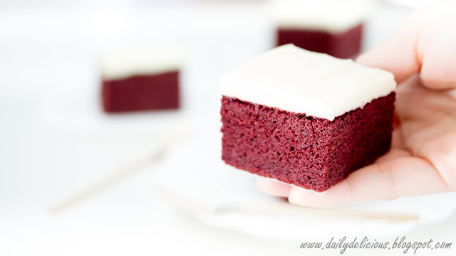 Red Velvet Cut Out Cookies Using Cake Mix