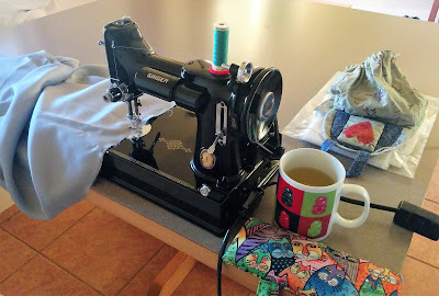 Creates Sew Slow: Sewing at Beach Abode