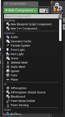 Add Component Panel