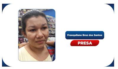 Polícia sergipana prende em Maceió mulher suspeita de matar o ex-companheiro