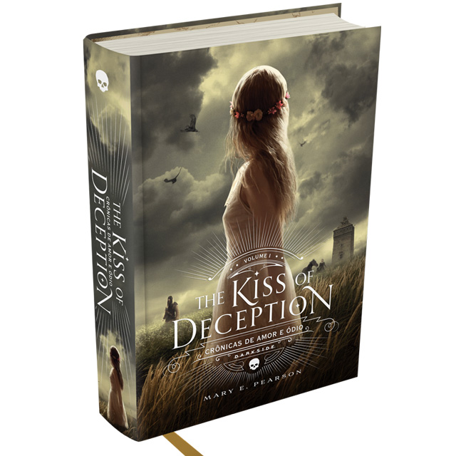 Capa do Livro Kiss Of Deception Mary E. Pearson DarkSide Books